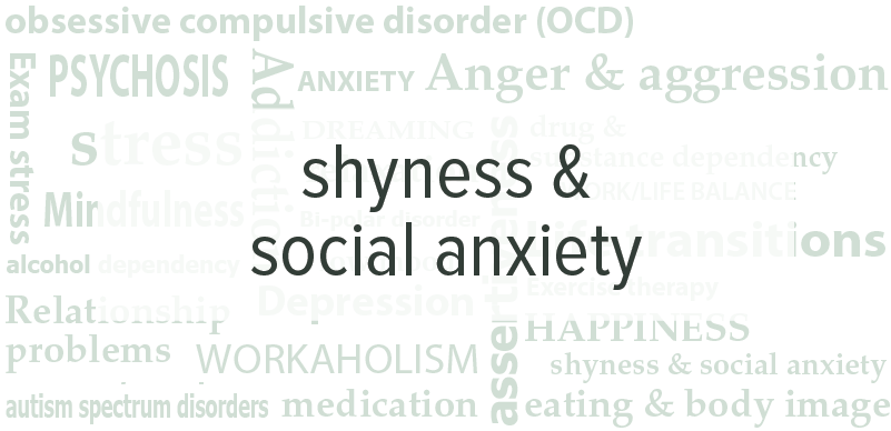Shyness & Social Anxiety